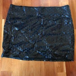 🐲Sequin mini skirt